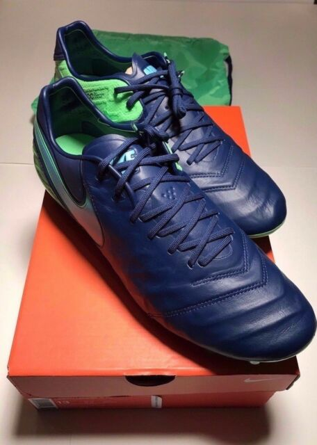 sports shoes 658d8 6f3ad Tiempo Legend VI FG Cleats Size 13 819177 443 With Bag