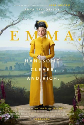 Emma Movie 2021 Anya Taylor-Joy 48x32 24x36 Silk Poster G-150