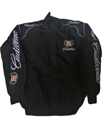 cadillac jacket racing motor sport black
