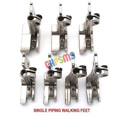 4SET SMOOTH BOTTOM PIPING WALKING FEET fit for JUKI DNU-1541 LU-562 563 1114
