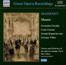 Great Opera Recordings: Massenet
