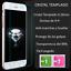 Funda-para-Apple-Iphone-5-5S-6-6S-6S-plus-marco-aluminio-tapa-espejo-cristal