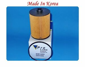 SOE6293 ENGINE OIL FILTER FITS: PORSCHE CAYENNE - VW CC PASSAT TOUAREG
