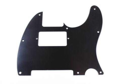 Brushed Black Anodized Aluminum Humbucking Tele Pickguard Fits Fender Telecaster