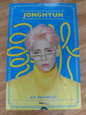 JONGHYUN (SHINee) - FIRST ALBUM [ORIGINAL POSTER] *NEW* K-POP 1ST