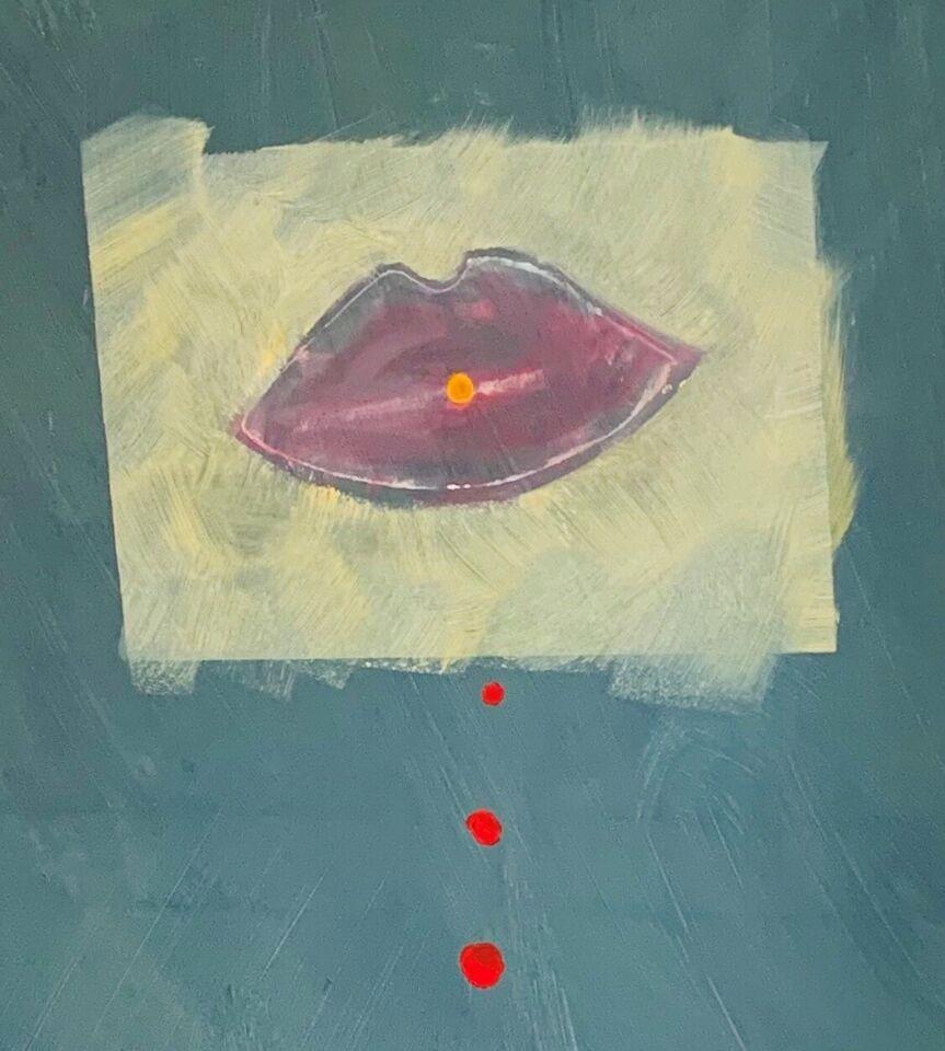 Akrylmaleri, NEX, motiv: Abstrakt