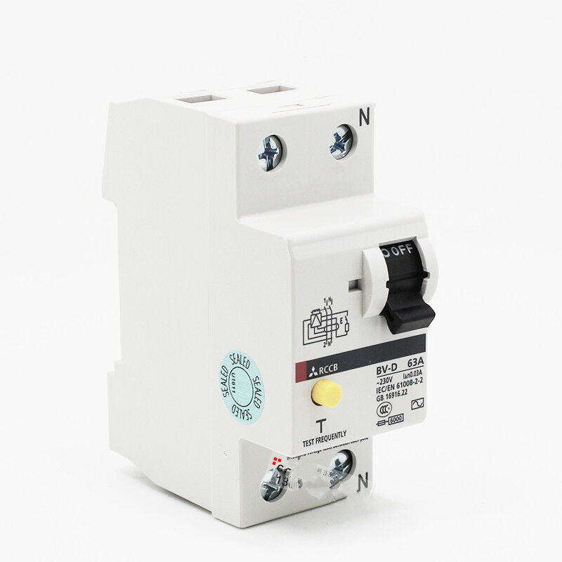 1PC New IN BOX Mitsubishi Residual-current Circuit Breaker BV-D 2P 63A