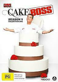 Cake Boss : Season 9 : Collection 1 (DVD, 2018, 2-Disc Set) NEW AND SEALED