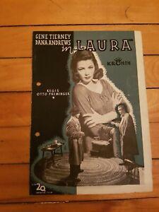 GENE-TIERNEY-Kronen-Magazines-1944-VERY-RARE