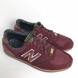 Necesito Infrarrojo Pasto  New Balance x Herschel Supply Co. U420HST Mens 6 Burgundy Sneakers Shoes  Rare | eBay