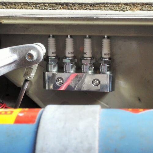 Spark Plug Holder aluminium vw mini BMW jaguar Ford MG classic M14 x 1.25 AAC103
