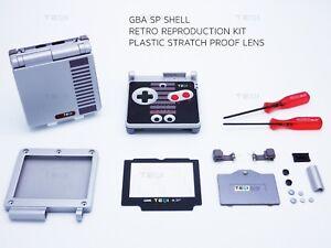 Nintendo-Retro-GBA-NES-Shell-Game-Boy-Advance-SP-Replacement-Housing-case
