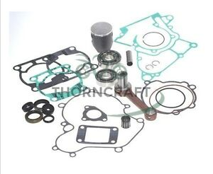 ktm 200 exc engine rebuild gasket piston seal connecting rod set kit 2003 2014 ebay. Black Bedroom Furniture Sets. Home Design Ideas