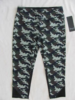 Vogo Athletica Running Tights/capri -yoga Workout-camo Print-size Large -nwt $44