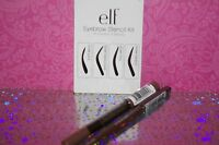 E.l.f. Essentials Eyebrow Stencil Kit Reusable Brow Shape Applicator + 2x Liners
