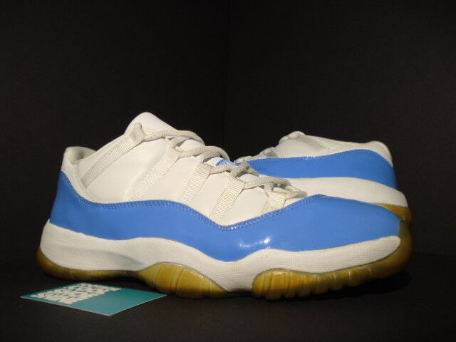 2001 Nike Air Jordan XI 11 Retro Low UNC WHITE COLUMBIA blueE 136053-141 12