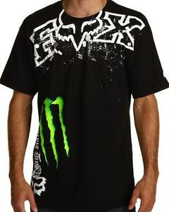 NEW-FOX-RACING-MONSTER-ENERGY-MENS-T-SHIRT-TEE-BNWOT-SZ-M-L-XL-XXL-Genuine