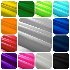 SOLID-POLYESTER-LINING-Fabric-HABOTAI-INTERLINING-58-034-By-The-Yard-20-COLORS