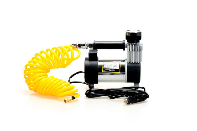 OZTRAIL GIBSON 12V AIR COMPRESSOR 45L/min  4WD TYRE PRESSURE INFLATE