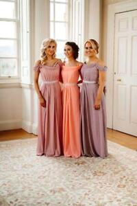 Bridesmaid-Dresses-Long-Chiffon-Prom-Party-Ballgown-Maxi-Evening-Gown-Uk