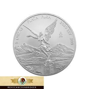 2020-Mexico-5oz-Silver-Libertad-Onza-BU-Treasure-Coin-Of-Mexico-034-READ