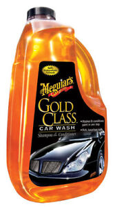 Meguiars Gold Class Car Wash Shampoo & Conditioner 64 oz. G-7164