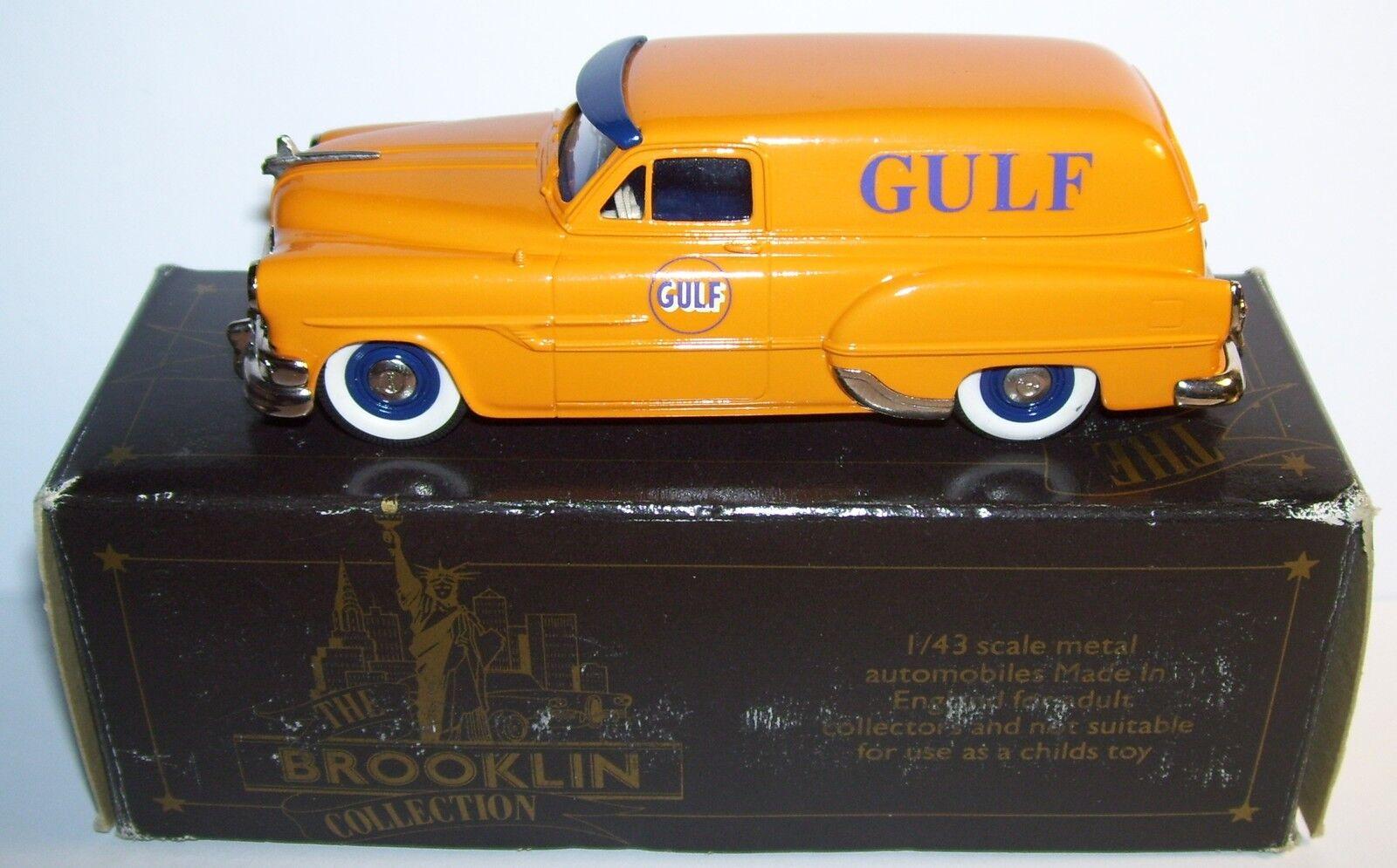Brooklin falken pontiac lieferung gulf oil 1953 Gelb Orange (pic - nic)