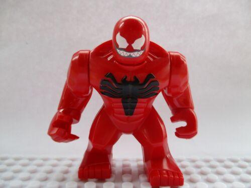 Marvel Super Heroes Carnage Mini Figure,Spiderman,Batman,Venom,Avengers Fit lego