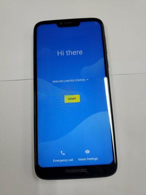 Motorola Moto G7 Power 32gb Marine Blue Metro Single Sim For Sale Online Ebay
