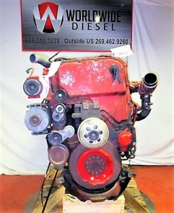Cummins-ISX-EGR-Diesel-Engine-Take-Out-450-HP-Turns-360-Good-for-Rebuild-Only