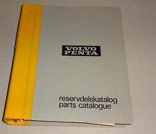 Parts catalog/reservdelsktalog Volvo Penta barco motor d 100 a-TD 120 C 12/19