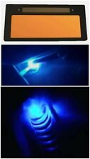 Gold Auto Welding Lens Cobalt Blue Glass Hd Filter With Case Shade 10