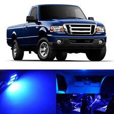 6pcs Full Blue SMD LED lights interior package kit for Ford Ranger 1998-2011 # 1