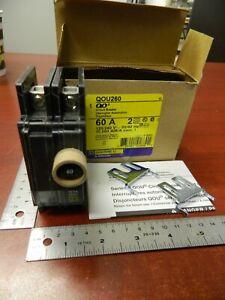 Square-D-QOU260-Circuit-Breaker-2-Pole-60A-Unit-Mount-120-240VAC