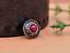 10X-Silver-Tone-Flower-Leather-Craft-Bag-Belt-Purse-Decor-Turquoise-Conchos-Set miniature 31