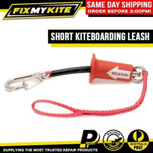 SHORT KITEBOARD RACE LEASH KITESURF KITES SAFETY QUICK RELEASE STAINLESS SHACKLE