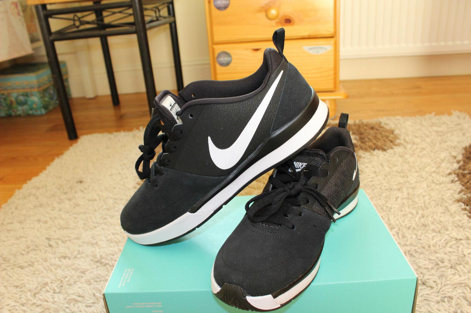 Nike Men's SB Trainerendor SE shoes Black/White-black-Blue NWB US 10