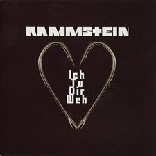 Rammstein Ich Tu Dir Weh Limited Edition 1 Sided Etched Red/Orange 7 Inch