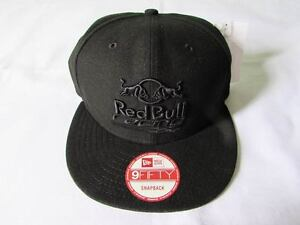 3e5fbb37958 NEW ERA CAP HAT 9FIFTY SNAPBACK RED BULL BRAZIL RACING TEAM BLACK