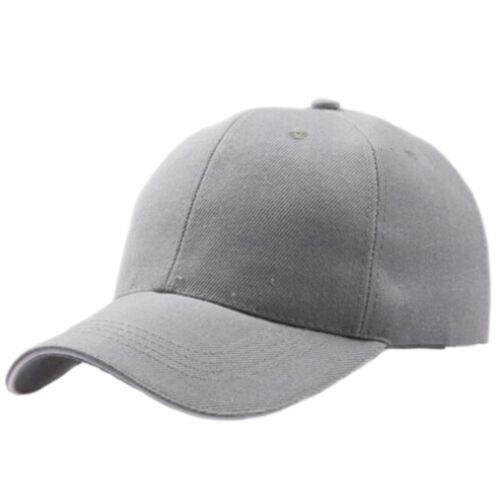 Men Women New Black Baseball Cap Snapback Hat Hip-Hop Adjustable Bboy Caps PLV