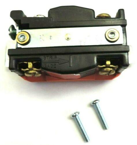 COOPER HART-LOCK NEMA L21-30 30A 120//208V 3ØY Locking Receptacle 4-Pole Orange