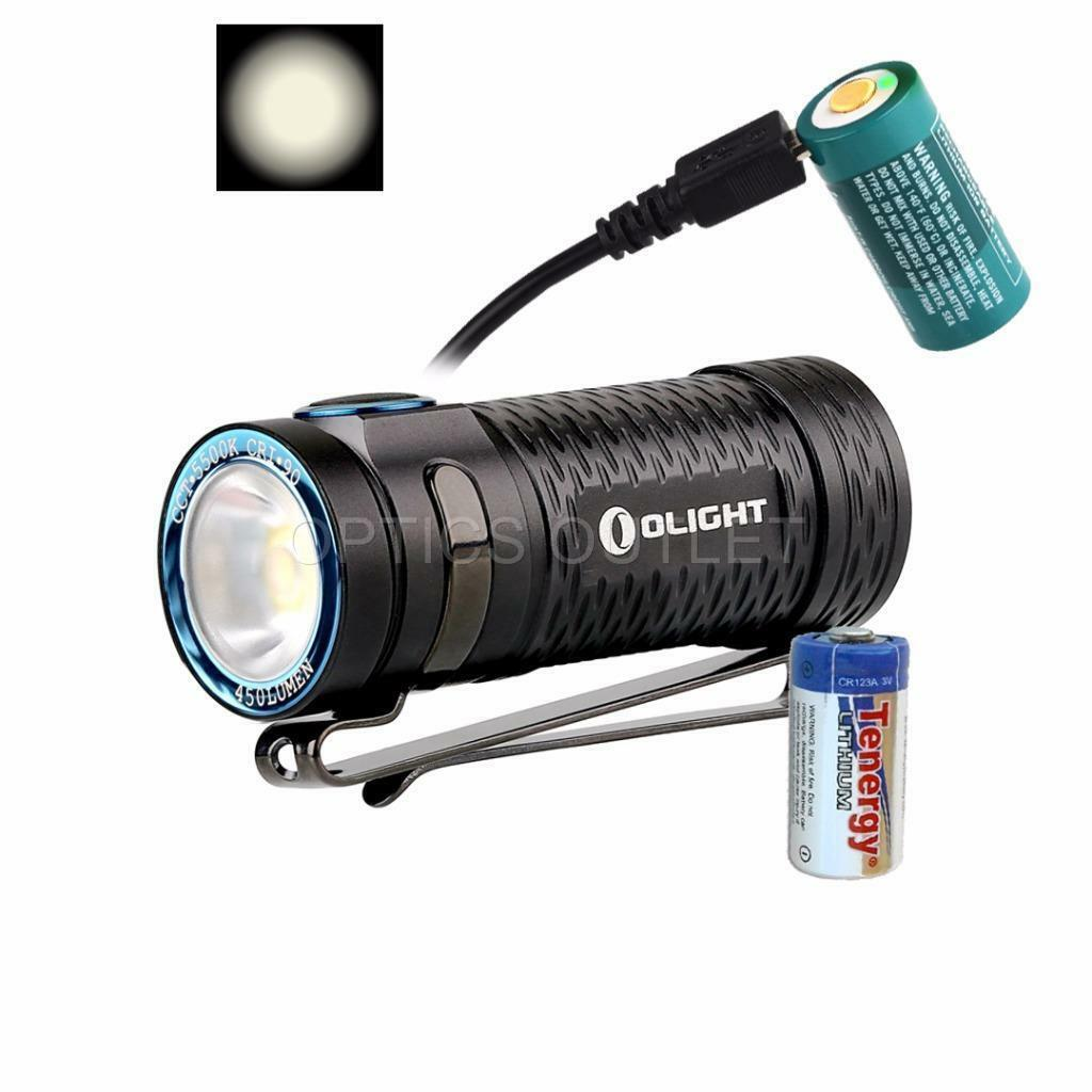 Olight S1 MINI HCRI USB Rechargeable Compact  LED Flashlight w  BONUS CR123A  hot sales