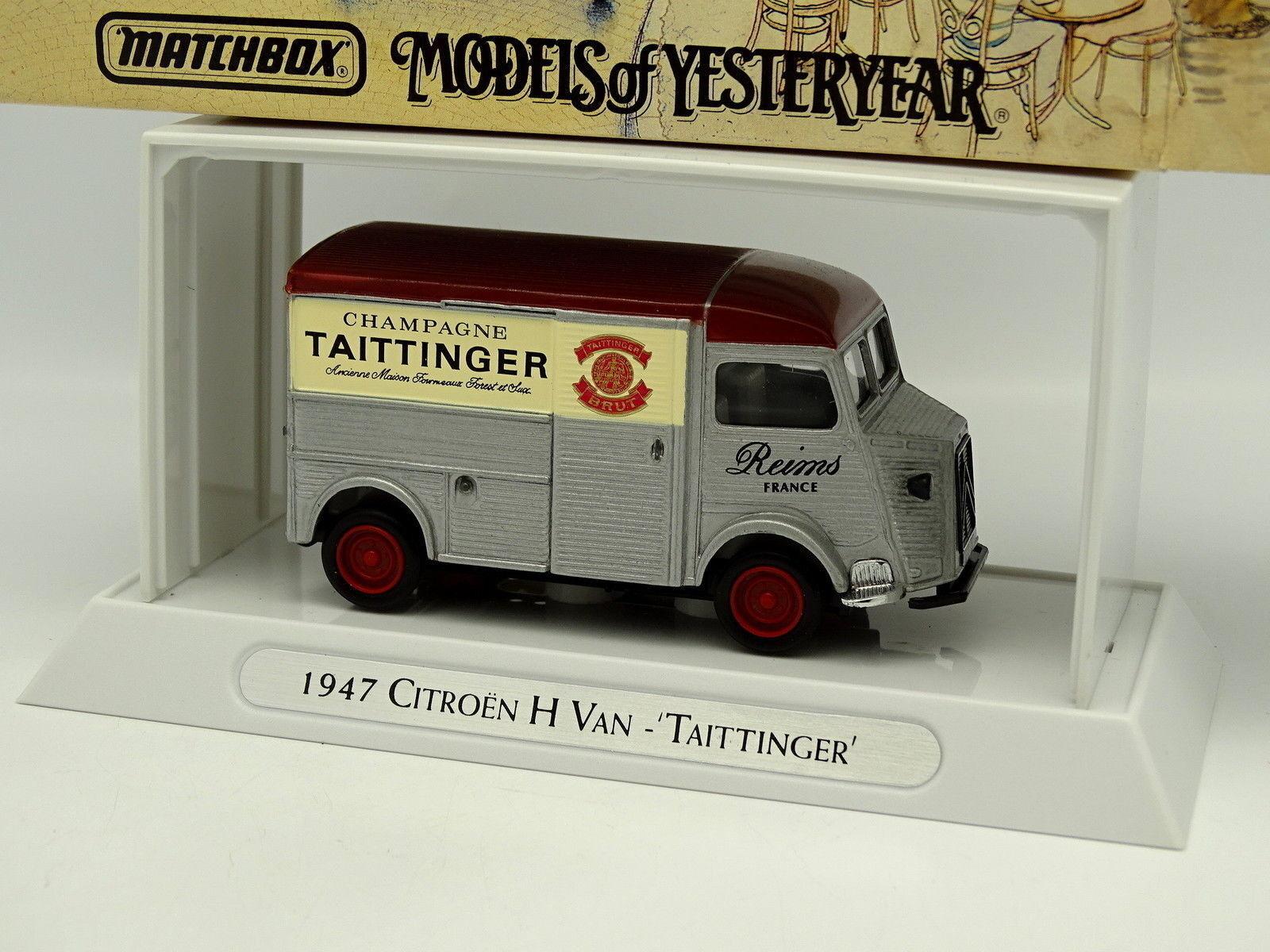 Matchbox 1 43 - Citroen Type H Van Taittinger