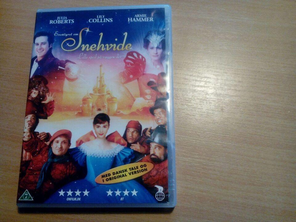 Snehvide, DVD, familiefilm