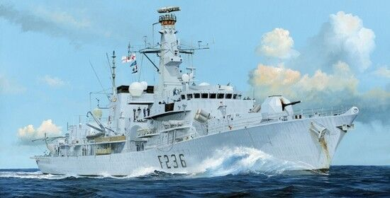 HMS Type 23 Frigate Ai Montpink F236 1 350 Plastic Model Kit TRUMPETER
