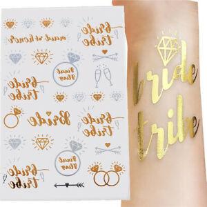 Bride-Tribe-Flash-Temporary-Tattoo-Sticker-Bridal-Wedding-Party-Decor-Team-1PC