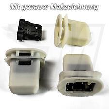1x Kunststof Halterung Clip Rücksitzbank Rücksitz Audi A4 8K A5 A6 A7 Q7 VW UP