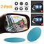 2PCS Oval Car Auto Anti Fog Rainproof Rearview Mirror Protective Film Useful