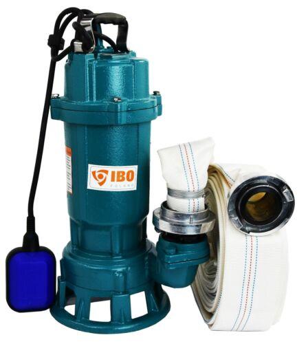 Ibo FURY1.5kW Submersible Sewage Sale Eau Septique Puisard Pompe 20m Meuleuse