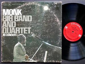 THELONIOUS-MONK-Big-Band-Quartet-In-Concert-LP-COLUMBIA-CS-8964-2-EYE-Thad-Jones